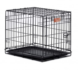 Midwest iCrate Dog Crate клетка для щенков и собак, черная, 1 дверь