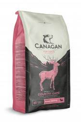 Canagan Grain Free Country Game корм для собак мелких пород Утка, Оленина, Кролик