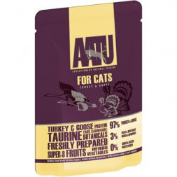 AATU Turkey Goose 97/3 Mixed protein for Cats паучи для кошек с индейкой и гусем